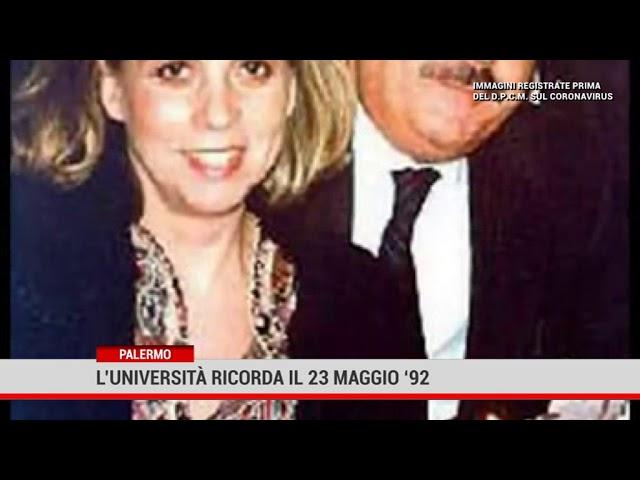 Palermo. L'università ricorda il 23 maggio '92