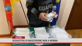Palermo. Mascherine non a norma vendute in farmacia : sequestro e sanzione