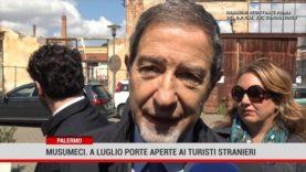 Palermo. Musumeci: a luglio potremmo accogliere turisti stranieri