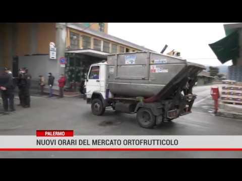 Palermo. Nuovi orari del Mercato ortofrutticolo