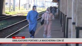 Palermo. Obbligatorio portare la mascherina con sè