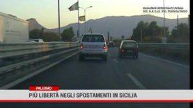 Palermo. Più libertà negli spostamenti in Sicilia