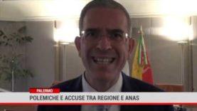 Palermo. Polemiche e accuse tra Regione e Anas