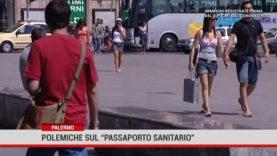 """Palermo. Polemiche sul """"passaporto sanitario"""""""
