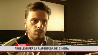 Palermo. Problemi per la riapertura dei cinema