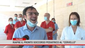 """Palermo. Riapre il pronto soccorso pediatrico al """" Cervello"""""""