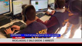 Palermo. Riciclaggio e sale giochi: 2 arresti