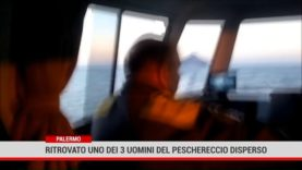 Palermo. Ritrovato uno dei 3 uomini del perschereccio disperso