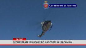 Palermo. Sequestrati 185.000 euro nascosti in un camion