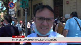 Palermo. Sit-in dei lavoratori della formazione