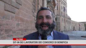 Palermo. Sit in lavoratori del consorzi di bonifica