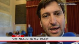 """Palermo. """"Stop alla Ztl fino al 31 luglio"""""""
