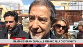Palermo. Strategie per un graduale ritorno alla quotidianità