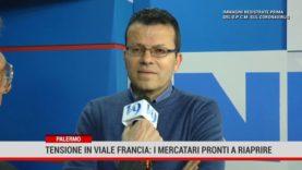 Palermo. Tensione in Viale Francia: i mercatari pronti a ripartire