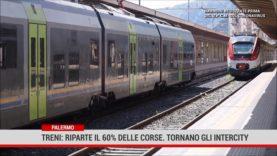 Palermo. Treni: riparte il 60% delle corse.Tornano gli Intercity