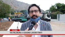 Palermo. Via Palinuro: a giugno lavori finiti.