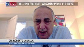 ROBERTO LAGALLA IN DIRETTA TV SU TELE ONE IN 19 LIVE