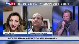 ROBY ABRUZZO E VINCENZO PRESTIGIACOMO RISPONDO AI TELESPETTATORI IN DIRETTA TV SU TELEONE IN 19 LIVE