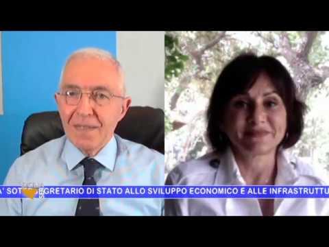 SICILIA SERA – FILIPPO CUCINA INTERVISTA SIMONA VICARI GIA' SOTTOSEGRETARIO ALLE INFRASTRUTTURE