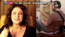 UNA VITA PIU SEMPLICE AIDA SATTA FLORES E LICIA BILLONE IN DIRETTA TV SU TELE ONE IN 19 LIVE
