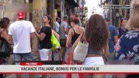 Vacanze italiane, bonus per le famiglie ed i single