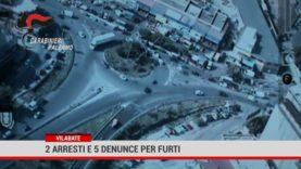 Villabate. 2 arresti e 5 denunce per furti