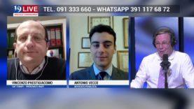 VINCENZO PRESTIGIACOMO E ANTONIO VECCE IN DIRETTA TV SU TELE ONE IN 19 LIVE