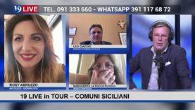19 LIVE in TOUR  – COMUNI DI SICILIA CON LEO CIACCIO, MARGHERITA LA ROCCA RUVOLO E ROSY ABRUZZO