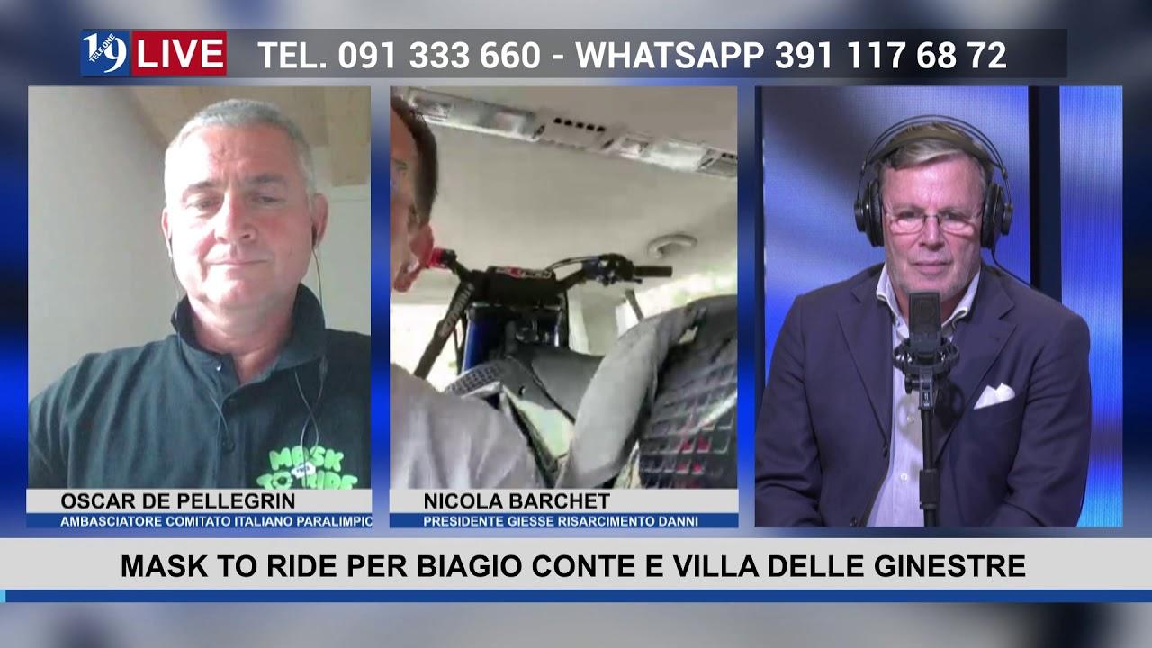 19 LIVE – MASK TO RIDE PER BIAGIO CONTE E VILLA DELLE GINESTRE OSCAR DE PELLEGRIN NICOLA BARCHET