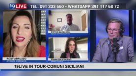 19LIVE #COMUNISICILIANI: con P.Macaluso Sindaco di #PetraliaSoprana e F.Valenti Sindaco di #Sciacca