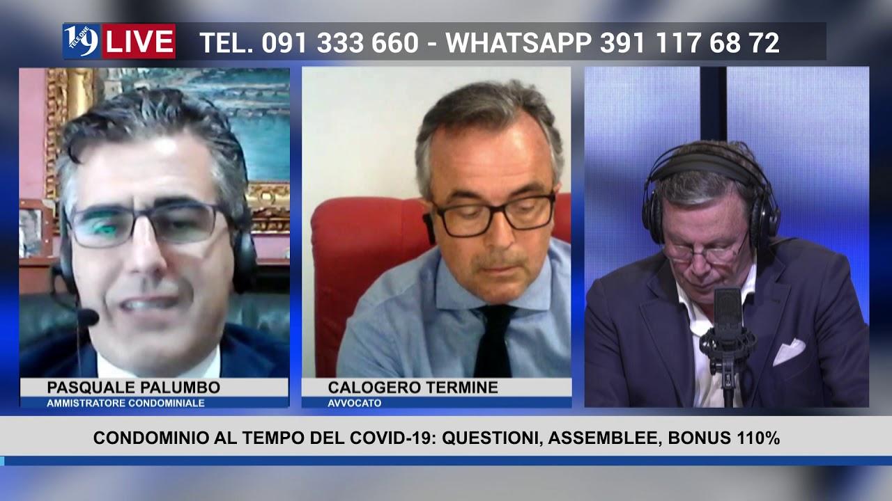 19LIVE    CONDOMINIO AL TEMPO DEL COVID 19: QUESTIONI, ASSEMBLEE E BONUS 110%