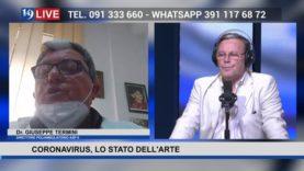 19LIVE CORONAVIRUS, LO STATO DELL'ARTE CON IL DR. GIUSEPPE TERMINI ASP 6