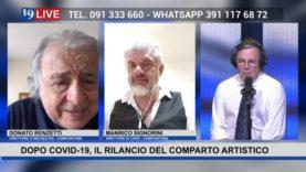19LIVE – DOPO COVID 19 , IL RILANCIO DEL COMPARTO ARTISTICO