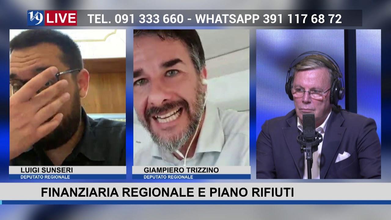 """19LIVE  """"FINANZIARIA REGIONALE E PIANO RIFIUTI"""" con On. Luigi Sunseri e On. Giampiero Trizzino"""