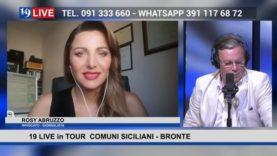 19LIVE in TOUR – COMUNI SICILIANI –  BRONTE, CON IL SINDACO GRAZIANO CALANNA
