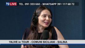 19LIVE in TOUR  – COMUNI SICILIANI – SALINA
