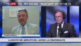 19LIVE LA NOVITA' NEL MERCATO DEL LAVORO, LA CODATORIALITA' CON FILIPPO ALEOTTI
