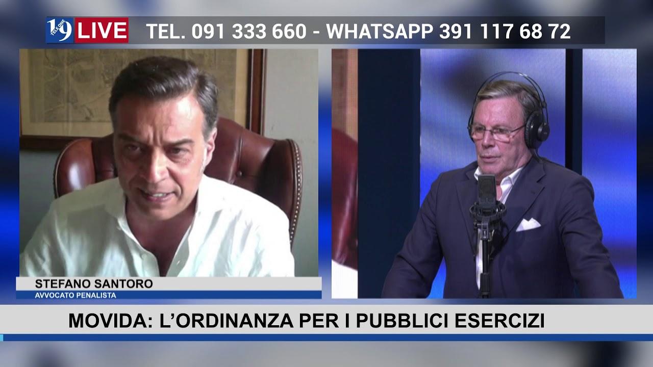 19LIVE MOVIDA L'ORDINANZA PER I PUBBLICI ESERCIZI