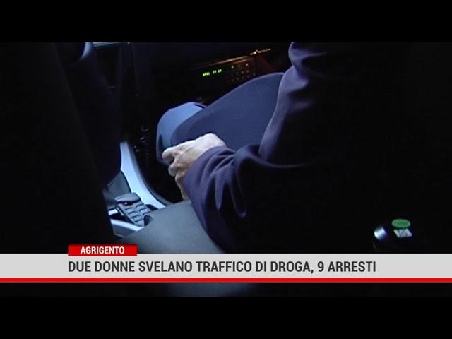 Agrigento. Due donne svelano traffico di droga, 9 arresti