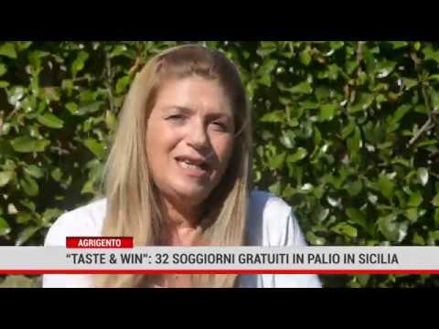 """Agrigento. """"Taste&Win"""":  32 soggiorni in palio in Sicilia"""