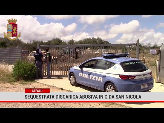 Cefalù. Sequestrata discarica abusiva in contrada San Nicola