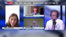 CREDITO SPORTIVO: VICTOR DI MARIA, PINO MANGANO, EMMA MUSACCHIA IN DIRETTA TV SU TELE ONE IN 19 LIVE