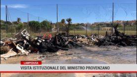 Lampedusa. Visita istituzionale del Ministro Provenzano