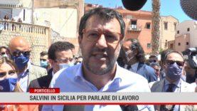 Matteo Salvini a Bagheria e Porticello per parlare di lavoro