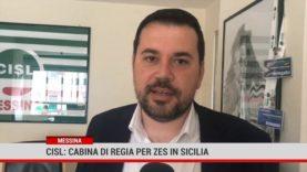 "Messina. Cisl:"" Cabina di regia per Zes in Sicilia """