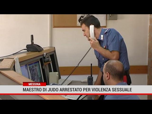 Messina. Maestro di judo arrestato per violenza sessuale