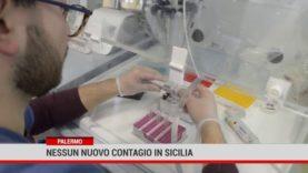 Nessun nuovo contagio in Sicilia