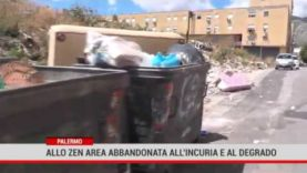 Palermo. Allo Zen area bbandonata all'incuria e al degrado