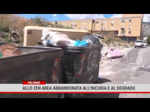 Palermo. Allo Zen area bbandonata all'incuria e al degrado