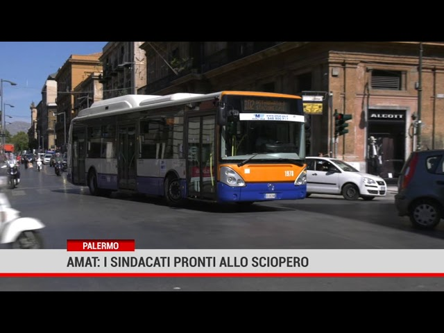Palermo. Amat, i sindacati pronti allo sciopero
